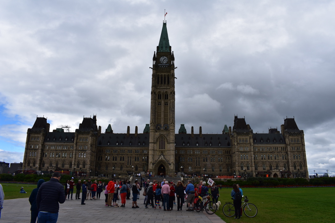 Starting FASD Walk at Parliament Hill