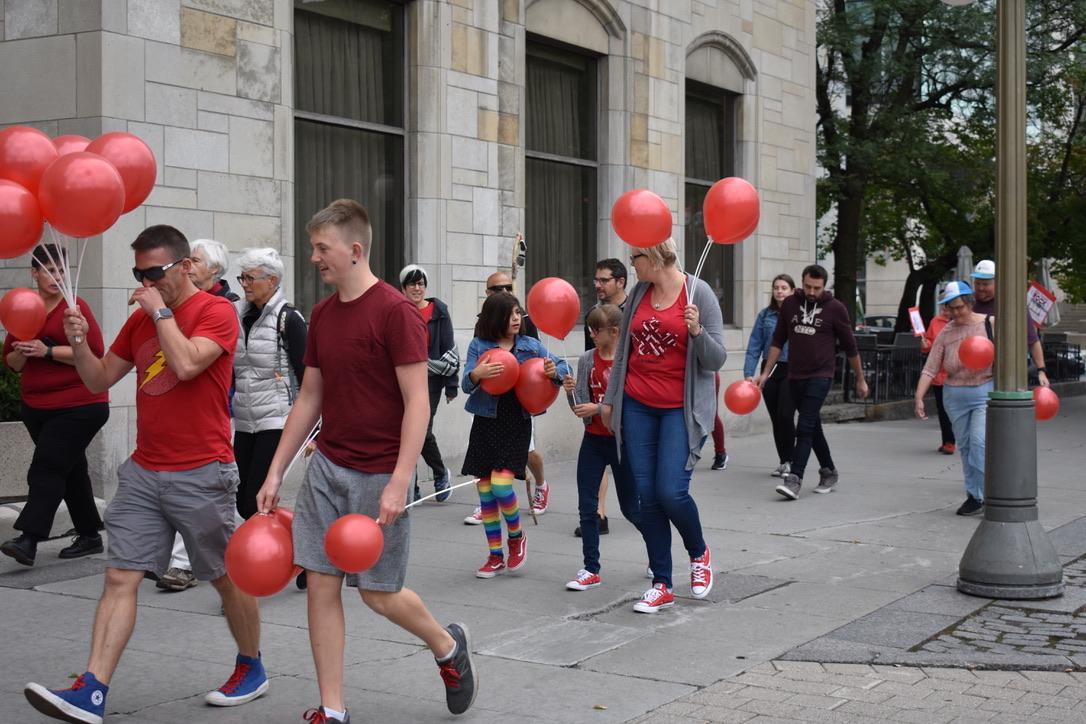 On the FASD Awareness Walk